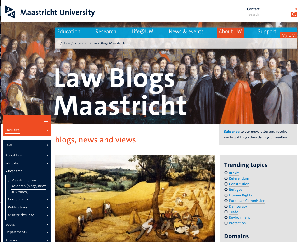 Maastricht centre for european law research maastricht university authors of all our contributions are staff members of maastricht university faculty of law spiritdancerdesigns Image collections