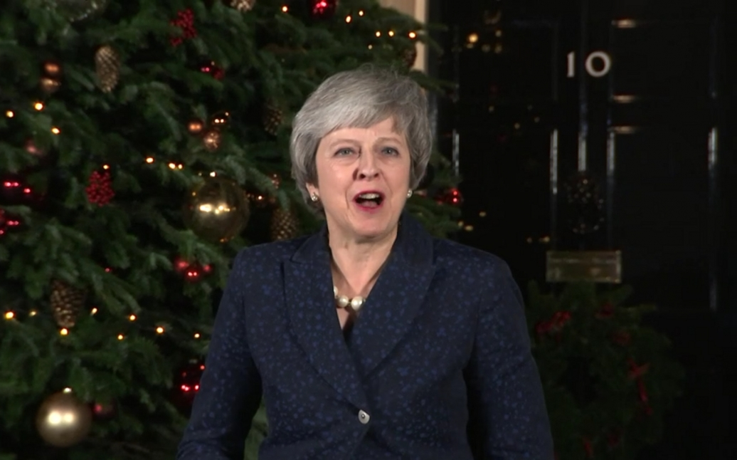 Theresa May blog update for Brexit