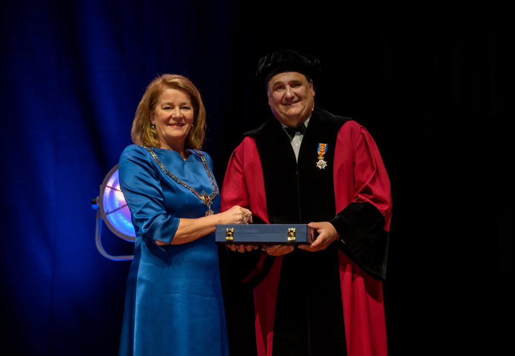 Prof. Martin Paul receives his royal distinction of Officer in the Order of Orange-Nassau