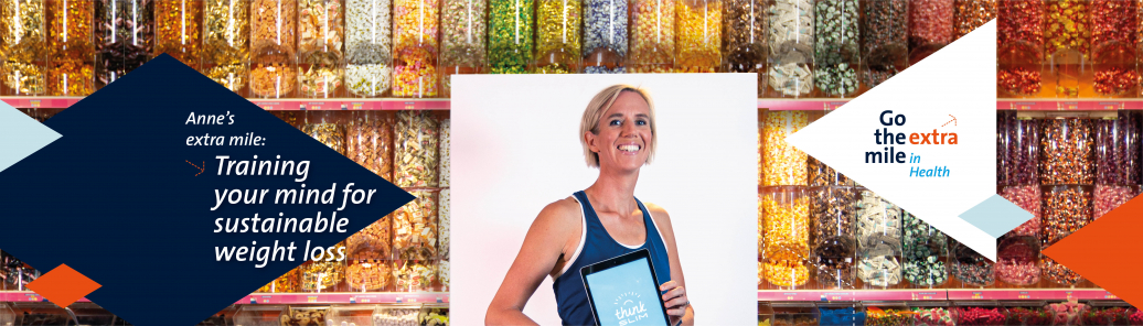 Anne Roefs helps people to lose weight in a sustainable way