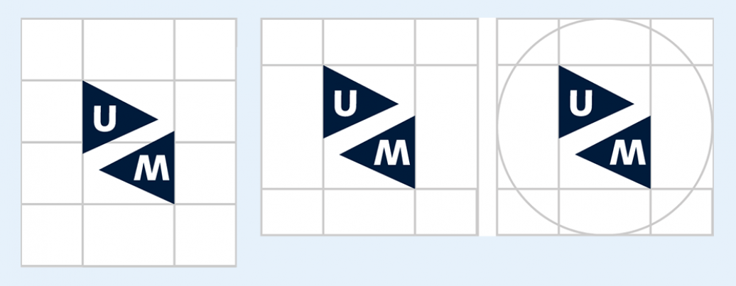 UM logo digital versions without word branding