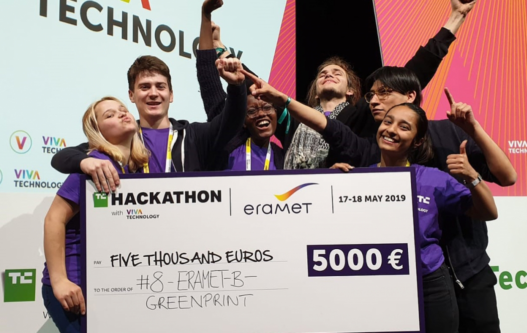FSE students place first in international hackathon
