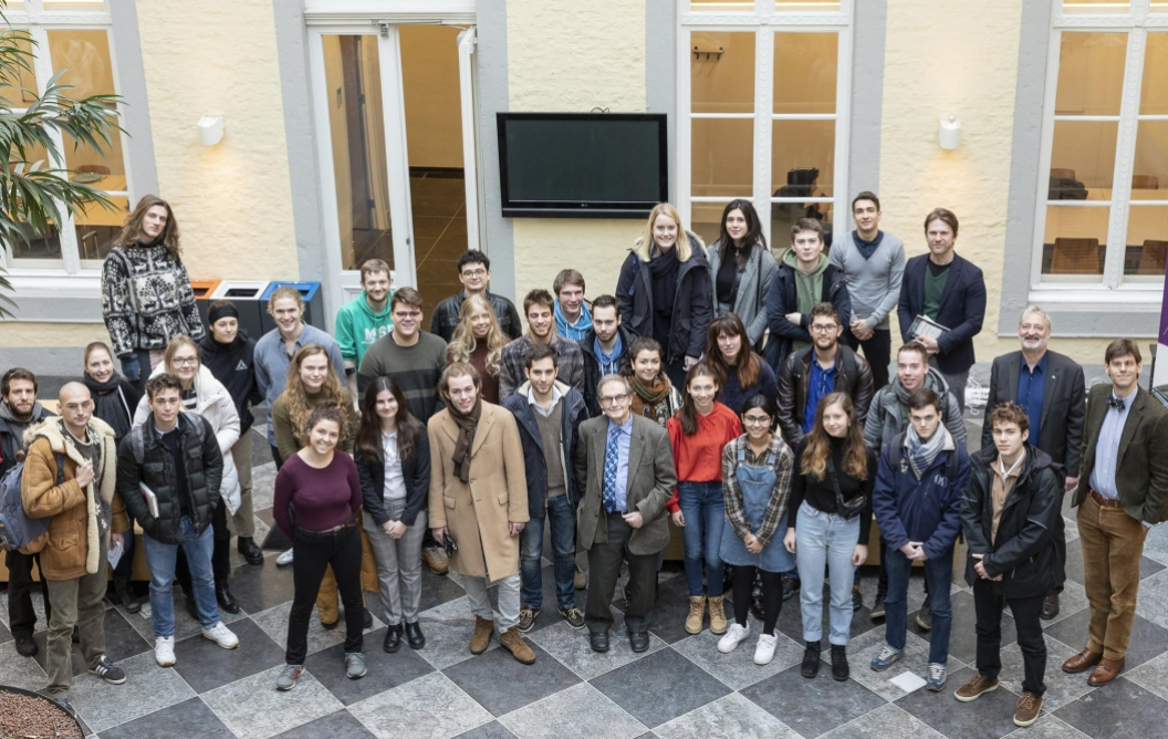 Group photo with sir Roger Penrose