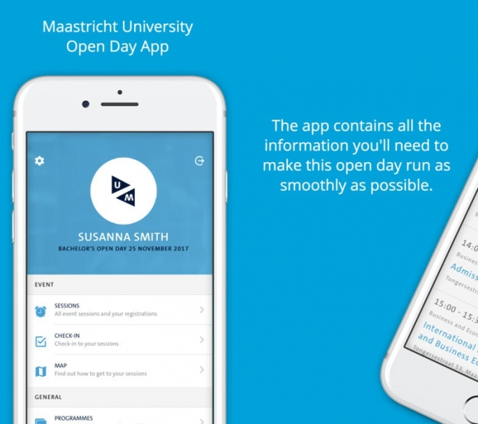 Maastricht University Open Day app