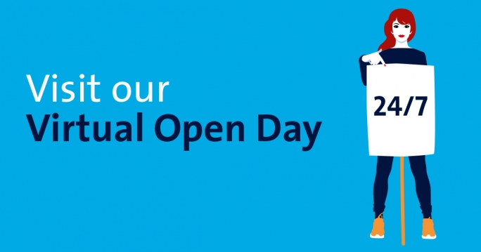 Visit our Virtual Open Day 24/7