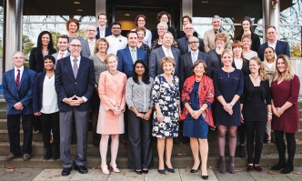 HRH Princess Margriet and the Advisory Board Global Health