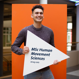 Jersey, student ambassador for the master's in Human Movement Sciences at Maastricht University