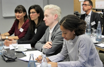 UM students participating at symposium in Berlin