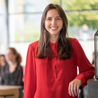 Kelly Stijkel, master's student in Healthcare Policy, Innovation and Management