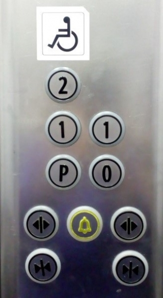 Lift buttons explained