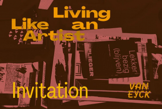Living like an artist exhibition