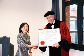 PhD defence Mengxing Lu Diploma