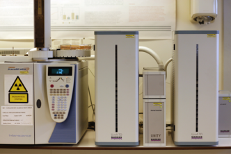 Thermal desorption gas chromatography-time-of flight mass spectrometry