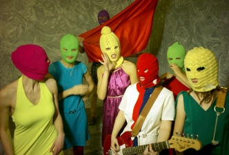 Picture of the band Pussy Riot