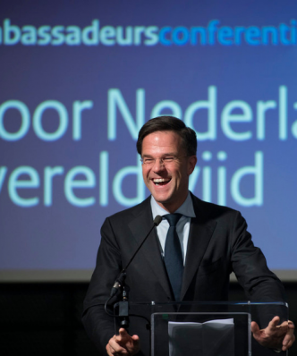 Photograph of Mark Rutte