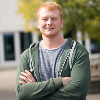 Thorben Aussieker, master's student in Health Sciences Research
