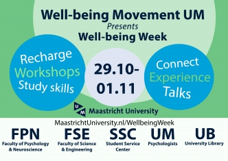well-being week flyer 2018