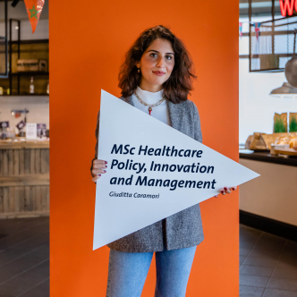 Giuditta, student ambassador master in Healthcare Policy, Innovation and Management