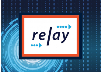 RELAY logo for BISS event