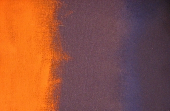 Painting with orange and purple