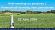 23 Juni Promovendi-meeting