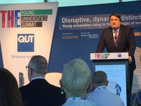 Martin Paul at the Young Universities Summit