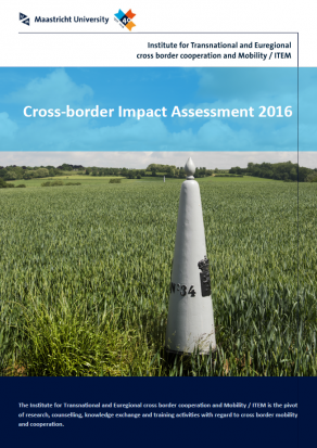 ITEM Cross-border Impact Assessment Front Page