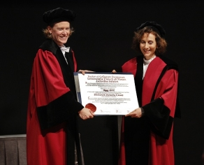 Professor Peggy Levitt receives an honorary doctorate