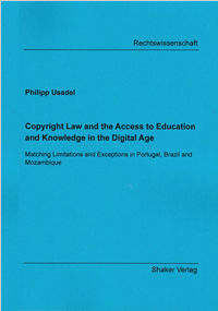 Copyright Law and the Access to Education and Knowledge in the Digital  Age