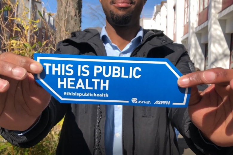 This is Public Health sticker